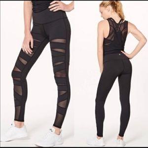 Lululemon high times tech mesh leggings